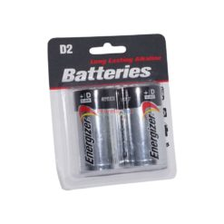 ENERGIZER BATTERIES D 2pk