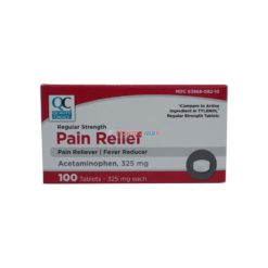 QC PAIN RELIEF 325mg 100 TAB
