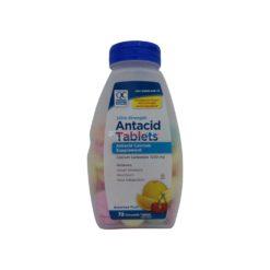 QC ANTACID ULTRA FRUIT 72 TABS
