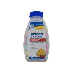 QC ANTACID EXT/STR FRUIT 96TAB