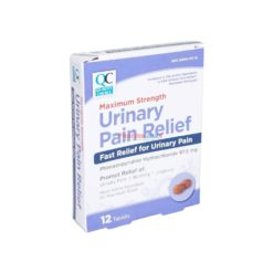 QC URINARY PAIN RELIEF 12 TAB