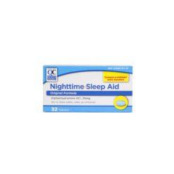 QC NIGHTTIME SLEEP AID ORIG32T