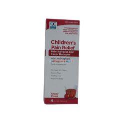 QC PAIN RELIEV CHILD CHERR 4oz