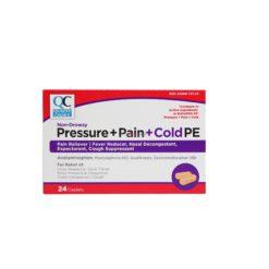 QC PRESSUR+PAIN+COLD PE 24 CAP