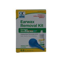 QC EARWAX REMOVAL KIT 15ml