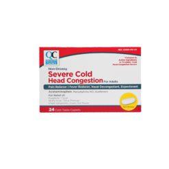 QC SEVER COLD HEAD CONG 24 CAP