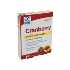 QC CRANBERRY URINARY 50 CAP
