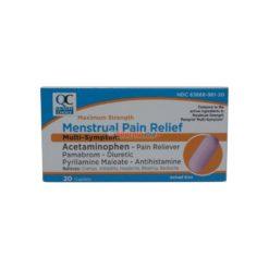 QC MENSTRUAL PAIN REL MS 20CAP