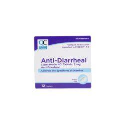 QC ANTI-DIARRHEAL 2MG 12 CAPS