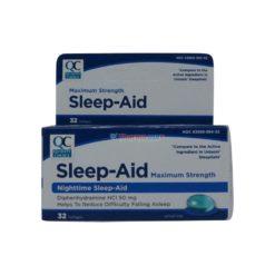 QC SLEEP AID MAX 32 SOFTGELS