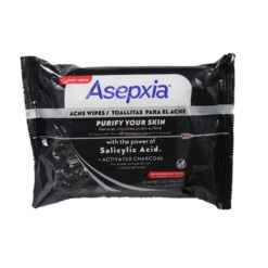 ASEPXIA CHARCOAL WIPES 20ct