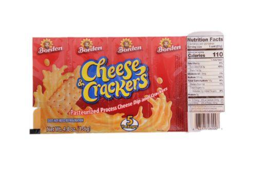 BORDEN CHEESE & CRACKERS 5pk