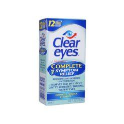 CLEAR EYES COMPLETE 7 SYM 15ml