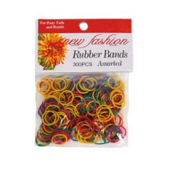NF RUBBER BANDS COLORS 300pc