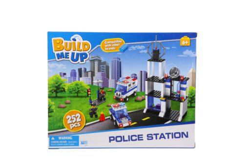 BUILD ME UP POLICE STATI 252pc