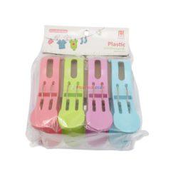 KUSHANG PLASTIC CLOTHESPIN4ct