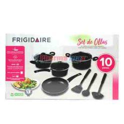 Frigidaire Cookware Black 10pcs
