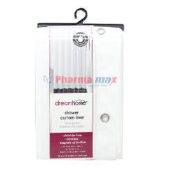 Dream Home Shower Curtain Liner Peva White
