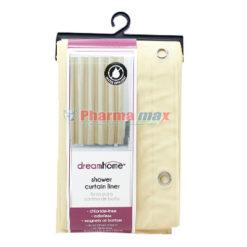Dream Home Shower Curtain Liner Peva Beige