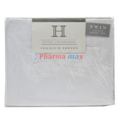 Hotel Collection Twin Sheet Set 3Pc B White