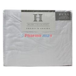 Hotel Collection Full Sheet Set 4pc B White