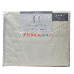 Hotel Collection Full Sheet Sl Set 4pc Ivory