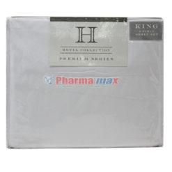 Hotel Collection King Sheet Set 4pc B White