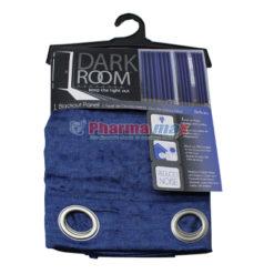 Dark Room Blackout Panel Bethany Navy