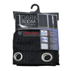 Dark Room Blackout Panel Bethany Black