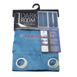 Dark Room Blackout Panel Annab Teal