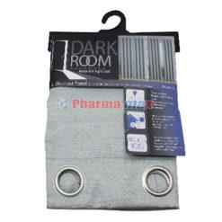 Dark Room Blackout Panel Morena Silver