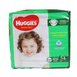 HUGGIES ACTIVE SEC XXL/6 22ct