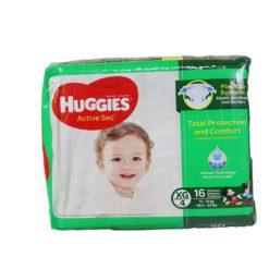 HUGGIES ACTIVE CONV XG/4 16ct