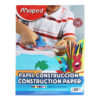 MAPED CONSTRUCTION PAPER 88ct