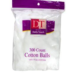 DT COTTON BALLS 300ct