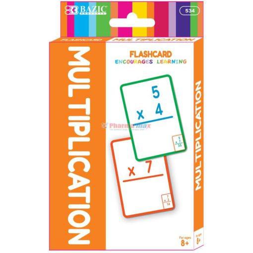 BAZIC FLASH CARD MULTIPL 36pk