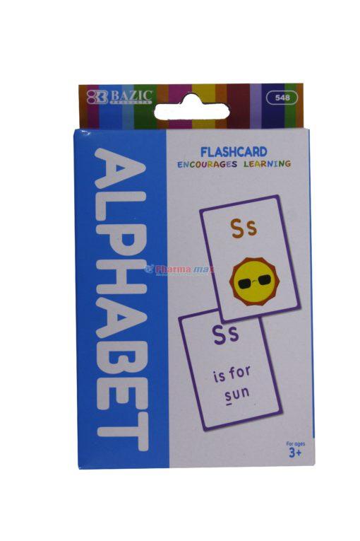 BAZIC FLASH CARD ALPHABET 36pk