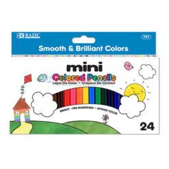 Bazic Mini Colored Pencils