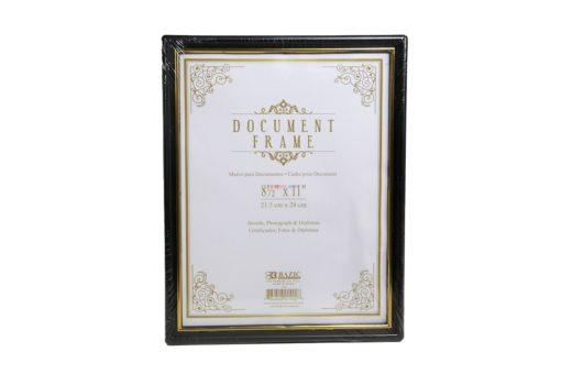 "BAZIC DOCUMENT FRAM 8 1/2""x11"""
