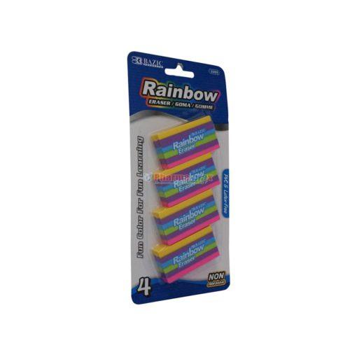 BAZIC RAINBOW ERASER 4pk