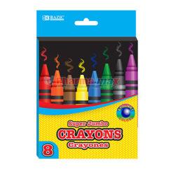 Bazic Super Jumbo Crayons