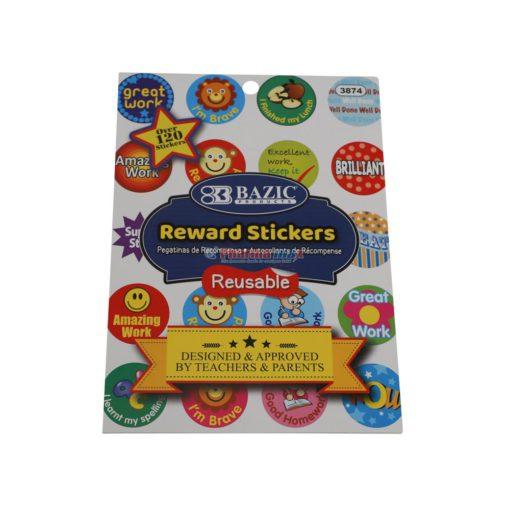 BAZIC STICKERS REWARD 3874