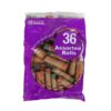 BAZIC COIN WRAPPERS ASST 36ct