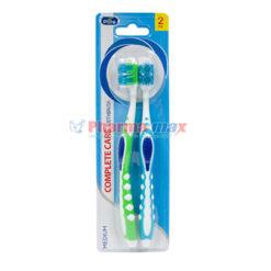 Al Pure Toothbrush Complete Care Medium 2pk