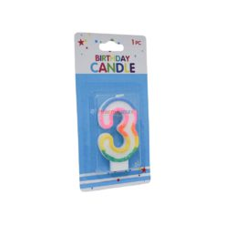 ALEF NUMERAL CANDLES #3