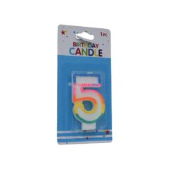 ALEF NUMERAL CANDLES #5