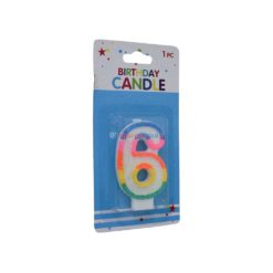 ALEF NUMERAL CANDLES #6