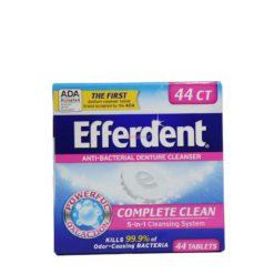 EFFERDENT DENTURE CLN 44 TAB