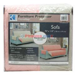 Home Sofa Protector Coral/Tau