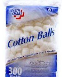 HEALTH COTTON BALLS 300ct